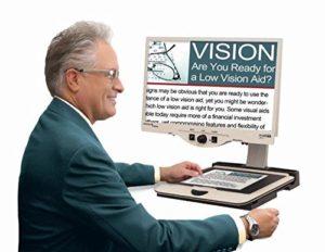 Merlin HD - desktop electronic magnifier
